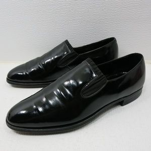 Roblee Corfam Leather Formal Dress Loafers 10.5 D